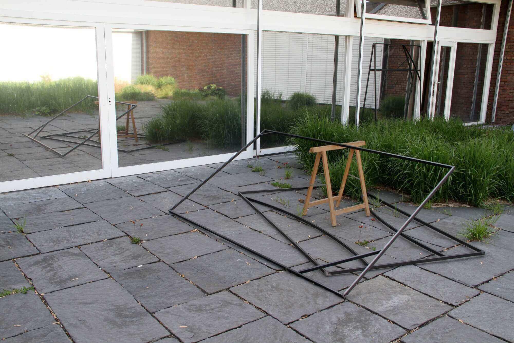 klaus kleine, ausstellung, installation, skulptur, akademie der künste berlin